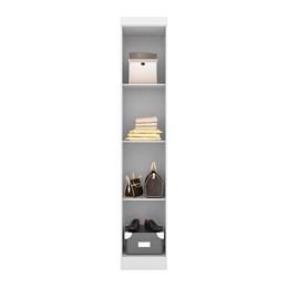 Armário Modulado 1 Porta Zafira Amendola/Branco - PR Móveis