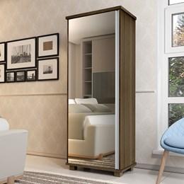 Armário Multiuso Londres com Espelho Amêndoa - Móveis Luapa