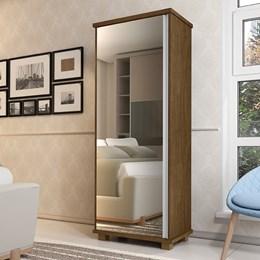 Armário Multiuso Londres com Espelho Malbec - Móveis Luapa
