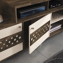 Bancada Inovatta - Deck / Off White - HB Móveis