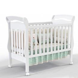 Berço Mini Cama Bambini - Branco Soft - Matic Móveis