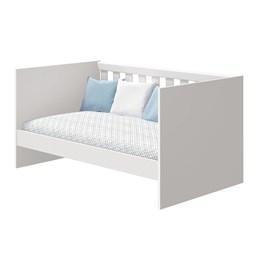 Berço Mini Cama Katatau Branco Brilho - Reller Móveis