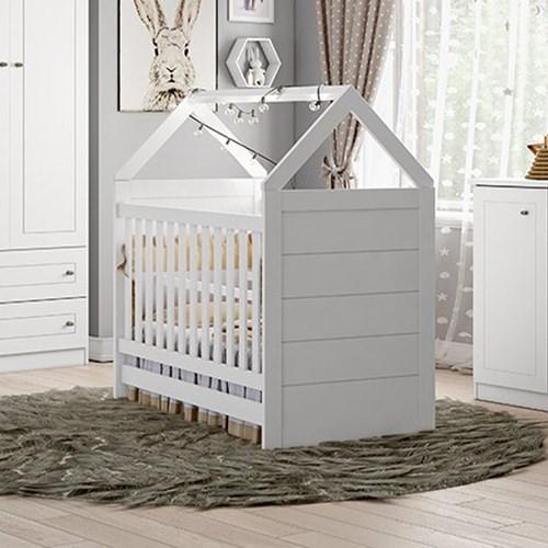Berço Montessoriano Cabana - Branco HP -  Móveis Henn