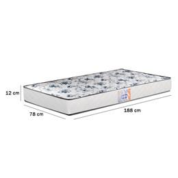 Colchão Solteiro Espuma Supreme D20 78cmx188cm - Gazin