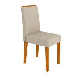 Conjunto 2 Cadeiras Ana Ipê/Bege - New Ceval