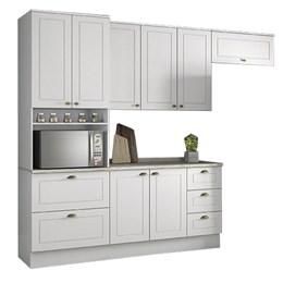 Cozinha Completa Americana 4 Peças com Torre Branco HP - Móveis Henn