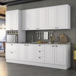 Cozinha Completa Americana 5 Peças Branco HP - Móveis Henn