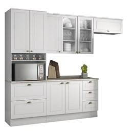 Cozinha Completa Americana 5 Peças com Torre Branco HP - Móveis Henn