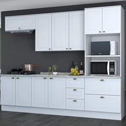 Cozinha Completa Americana 5 Peças com Torre Quente Branco HP - Móveis Henn