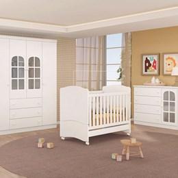 Dormitório Pérola - Branco - Peternella Móveis
