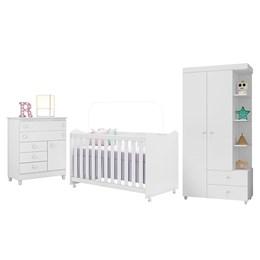 Dormitório Rubi Branco - Peternella Móveis
