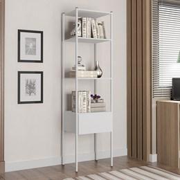 Guarda Roupa Modular Closet 540B Oxford Branco - Artefamol