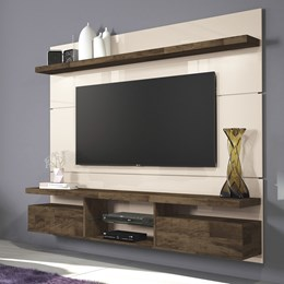 Home Suspenso Livin 1.8 - Off White/Deck - HB Móveis