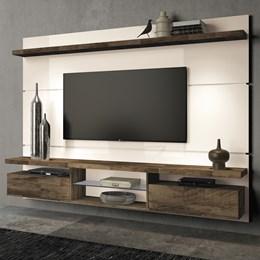 Home Suspenso Livin 2.2 - Off White/Deck - HB Móveis