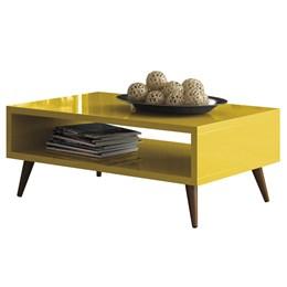 Mesa de Centro Lucy - Amarelo - HB Móveis