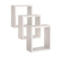 Nicho Quadrado - Branco - Peternella Móveis