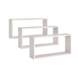 Nicho Retângulo - Branco - Peternella Móveis