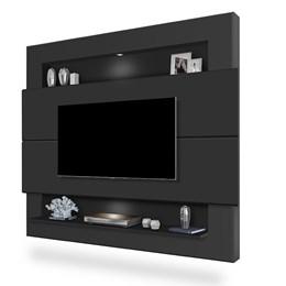 Painel Home Suspenso para TV Riviera 160cm Preto - Móveis Luapa