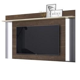 Painel para TV Malibu Plus Madero/Off White - Mobler