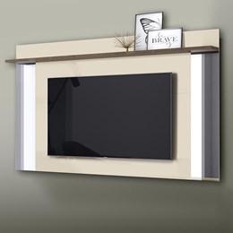 Painel para TV Malibu Plus Off White/Madero - Mobler