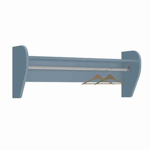 Prateleira Juju Azul Fosco - Reller Móveis