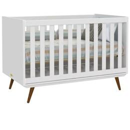 Quarto Infantil Retro Alice com Berço Retro Branco - PR Baby